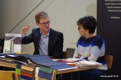 Fachgespräche zwischen Karin Pichel von Kneitz und Sebastian Thoma von TM