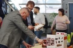Volker Lehmann erklärt die Lederproduktion bei Gmelich & Söhne